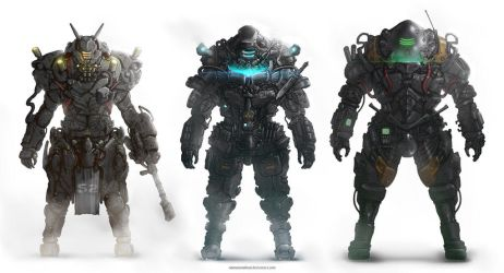 Armors by NOMANSNODEAD