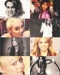 Miley Collage by Galaxy-Love
