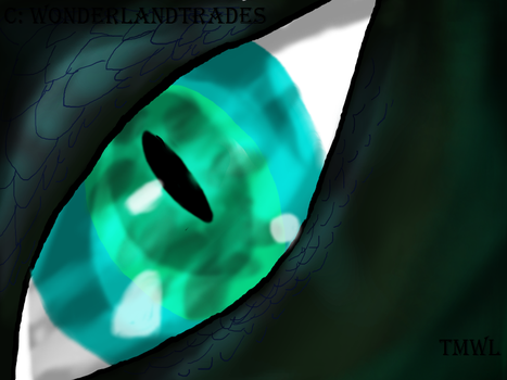 Renya - Eye of Fear - Digital by WonderlandTrades