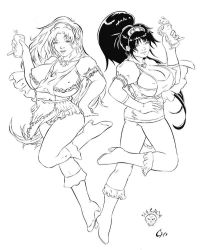 Milkmaids Ink W.I.P. by necroa