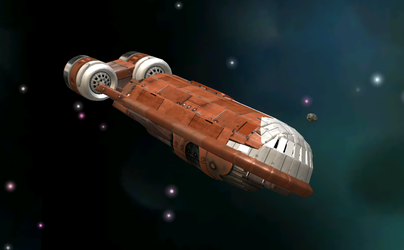 CSS-1 Correlian star shuttle by C-B-Liberty