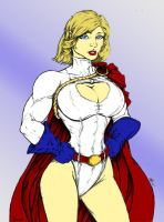 Power Girl by Toegar Coloured by hotrod5