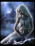 Blue Night II by NatsPearlCreation