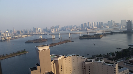 View of Tokyo from Nikko Daiba by Charchu-Devin