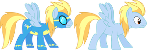 Lightning Streak (Wonderbolt) by 90Sigma