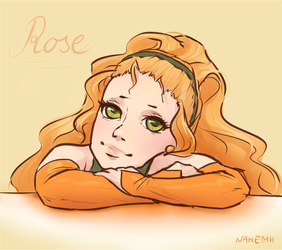 Dreaming Rose by Nahemii
