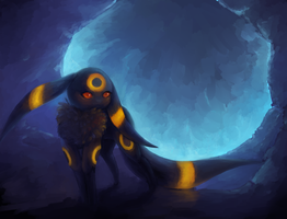 Umbreon by Glaciie