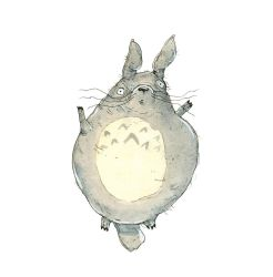 Childhood Totems - Totoro by macen