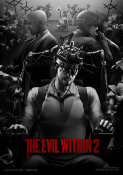 The Evil Within 2 - A Field of Lilys by Demento-Liszt