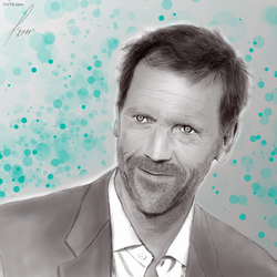 Hugh Laurie aka Dr House by IVV79