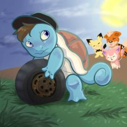 This tiny squirtle...  by Blarien
