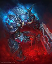 Blood Knight by KamuiHAX