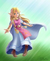 A Voice in a Dream (The Legend of Zelda: ALBW) by Takeshre