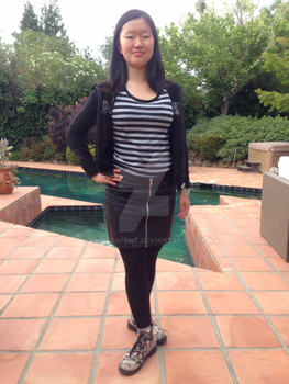 Maureen Johnson Rent Inspired Outfit(Front) by Malesafent
