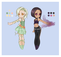 [CLOSED] Elemental Girls by Ceikii