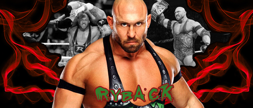 WRESTLING BANNERS: 29. Ryback by CreamCrazy