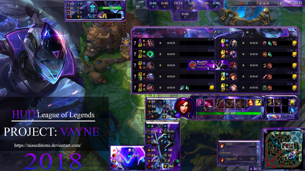 HUD Project Vayne by NiasEditions