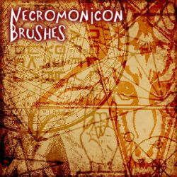 Necronomicon Brushes by DarkNova666