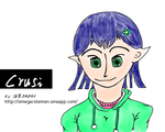 Crusi with green eyes by omegacoleman