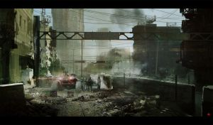 Riots in the city by ldimonl