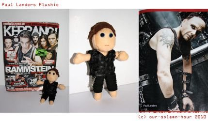 Paul Landers plushie by tanmei