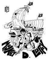 Monkey D Luffy by SoulKarl