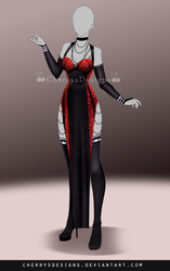 (closed) Outfit Adopt 686 by CherrysDesigns