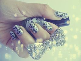 LEOPARD NAILS by OrdinaryThing