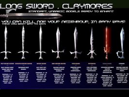 Swords , Chaos Swords items by softendo