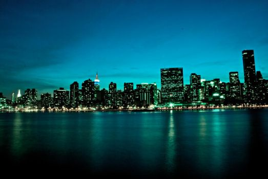 Green Skyline by Excalibur908