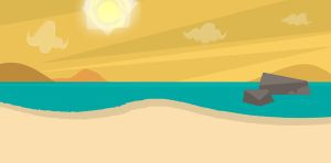 Total Drama Beach - Background by MigueLLima1999