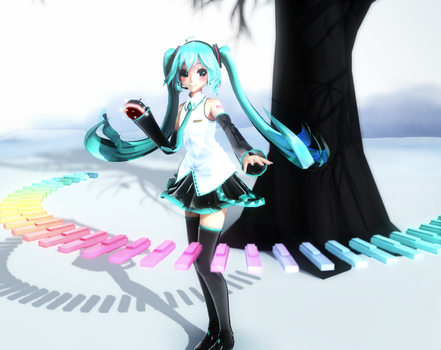 [MMD] Snow Planet by Somebody-tyan