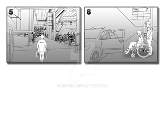 Storyboard - Wheelchair for disabilities 03 by npport