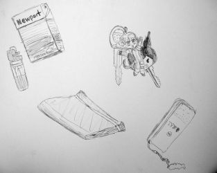 The Contents of My Purse by cardcaptorclaire