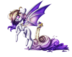 Art Trade with TardyPrincess- SPEED PAINT by ImmaGoddamPony