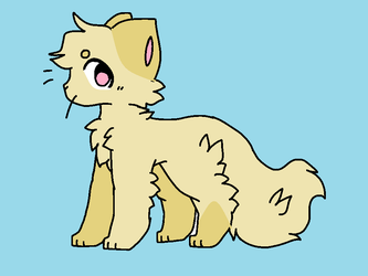 cream puff the cat by wolftie76