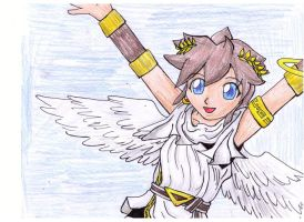 Pit Jumping Colored by KidIcarus242