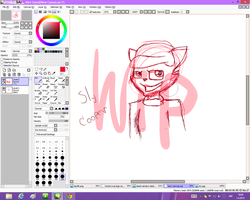 Wip: Sly cooper by MikaMilaCat