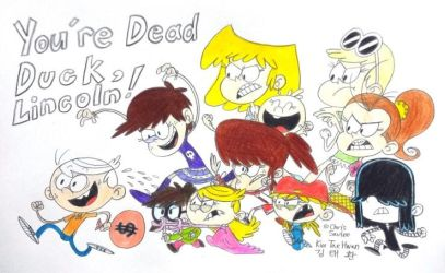 You're One Dead Duck,Lincoln! by komi114