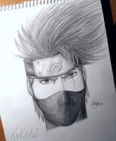 Hatake Kakashi Drawing by UchihaAkanee