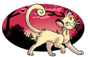 Art  Trade #4 - Persik by JB-Pawstep