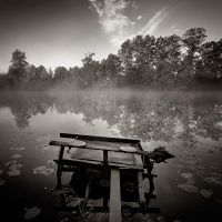 Fishing chair by EmilStojek