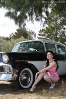 polka dot pinup playsuit by candeecampbell