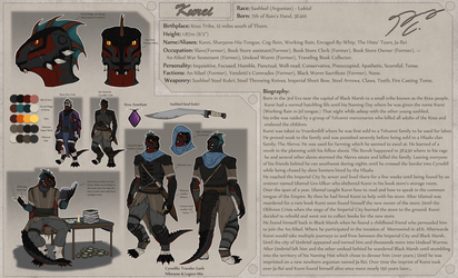 Working Rain Character Sheet by Guyver89