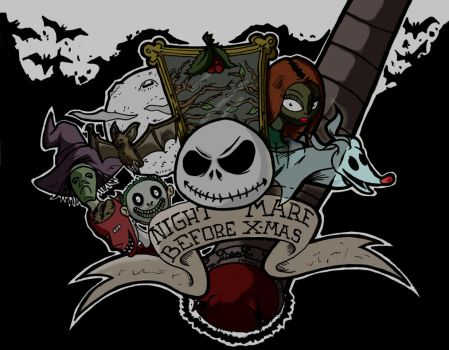 NIGHTMARE BEFORE X-MAS by Dexere