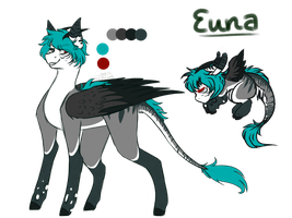 Euna Ref .:Commission:. by PixelBerrry