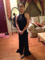 The Gown for Marine Corp Ball by WarriorNun