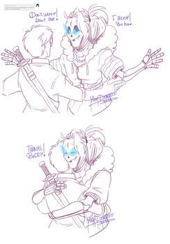 UnderFUSION - Ask: Again a hug by Yore-Donatsu