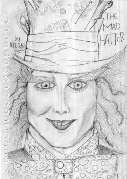 The Mad Hatter - Jhonny Depp by belindch