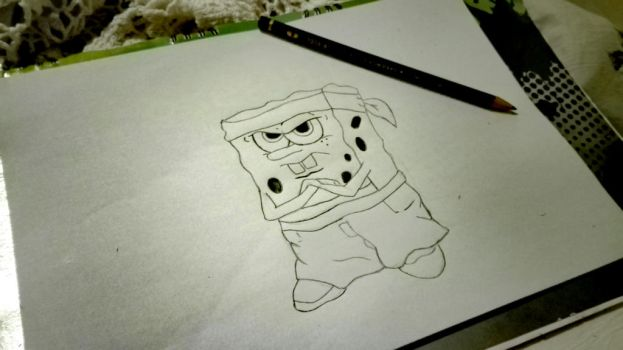 Spongebob(The Hood)Pants by MichaelJFourie